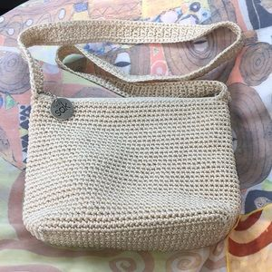 The Sak Crochet Crossbody Purse